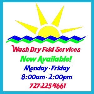 Wash Dry Fold at Sunset Pointe Laundromats